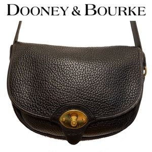 DOONEY & BOURKE leather key hole closure crossbody